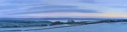 Sunrise at Bretton, Derbyshire