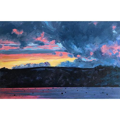 Day 14: Sunset at Gillan Cove