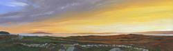 Sunset at Ros Muc, Connemara