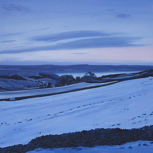 Dawn at Bretton, Derbyshire