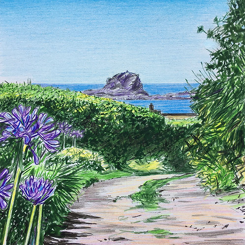 Towards the Sea, Bryher, Isles of Scilly