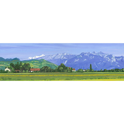 The Road to Samoens from Geneva, France
