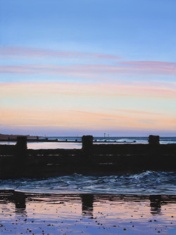 Evening at Sheringham Beach, Norfolk