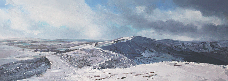 Winter View From Mam Tor