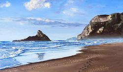 Kerekere Beach, New Zealand