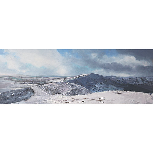 Winter View From Mam Tor, Derbyshire