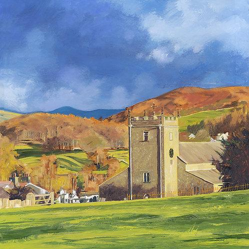 St Michael's and All Angels Church, Hawkshead, Cumbria