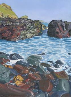 Serpertine Rocks at Kynance Cove, Cornwall