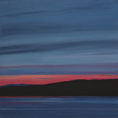 Sunset at Lochranza, Isle of Arran, Scotland - V