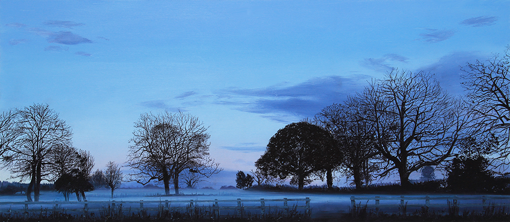 Evening Mist, Herefordshire