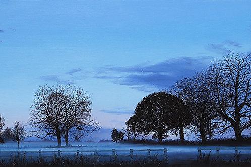 Evening Mist, Herefordshire