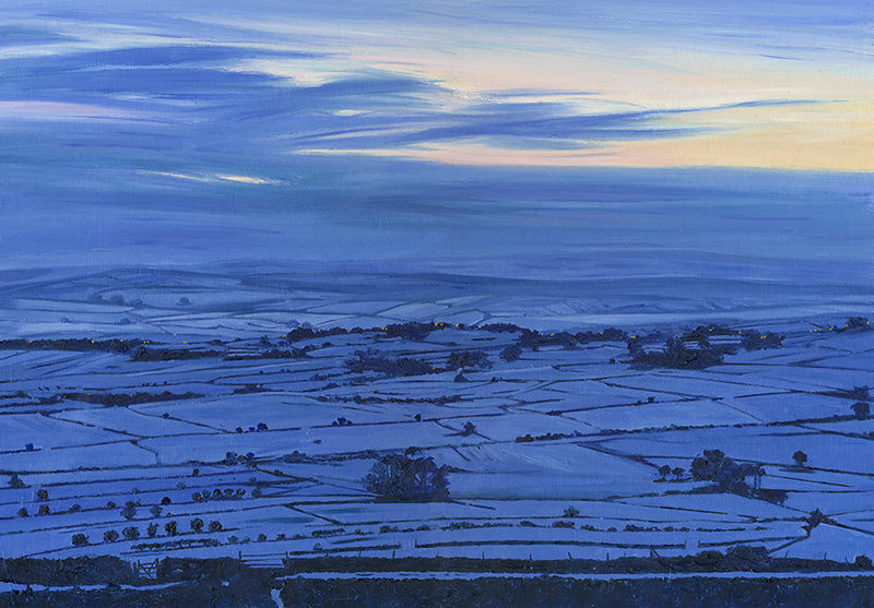 Dusk at Bretton, Derbyshire