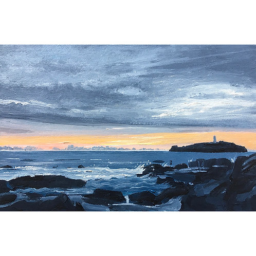 Day 3: Sunset at Godrevy