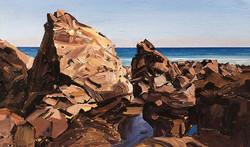 Lockdown Challenge Day 12: Rocks at Kennack Sands