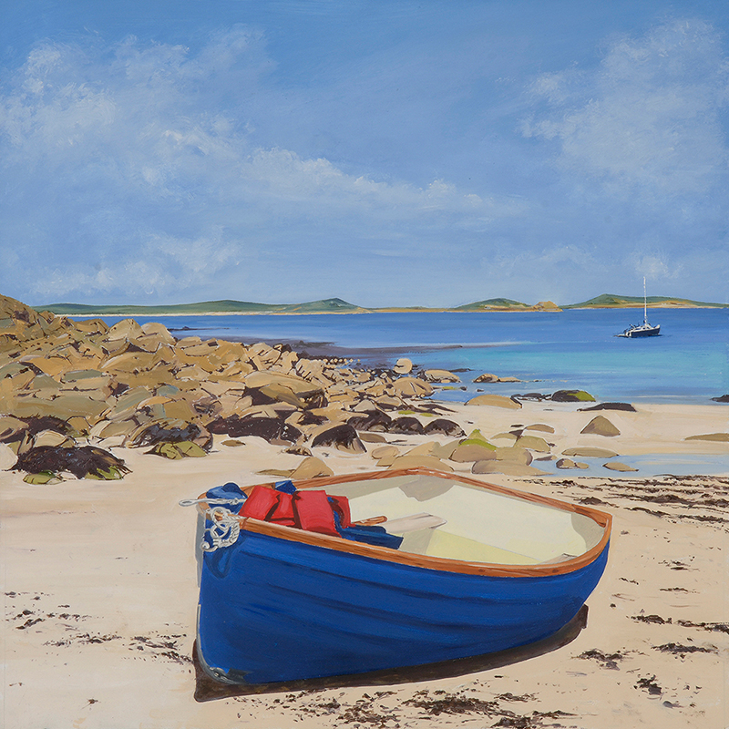 Ashore at Water Mill Cove, The Isles of Scilly