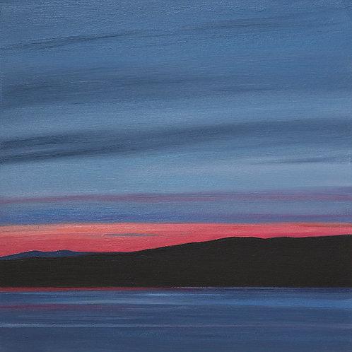 Sunset at Lochranza, The Isle of Arran – 21:25