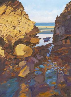Rock Pools at Kennack Sands - 1, Cornwall