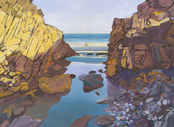 Rock Pools at Kennack Sands - 2, Cornwall