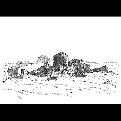 Study of Rocks at Beacon Hill II