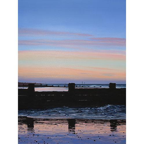 Evening on Sheringham Beach, Norfolk