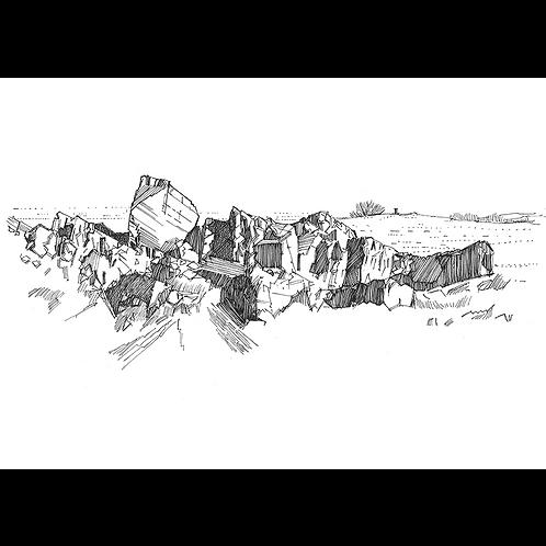 Study of Rocks at Beacon Hill I