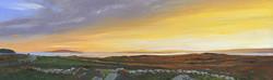 Sunset at Ros Muc, Connemara, Ireland
