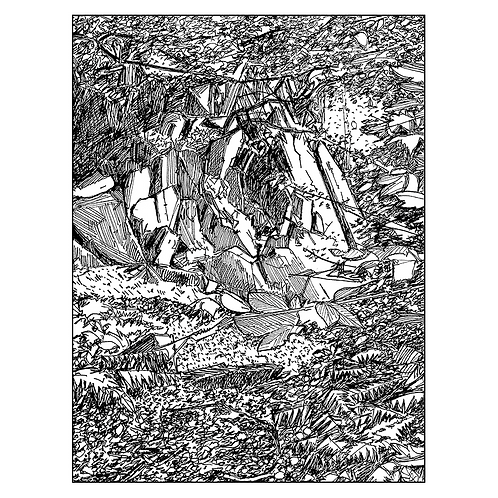 Rock Formation, The Outwoods