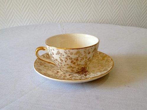 Чайная пара, фаянс Villeroy & Boch , Германия 80гг