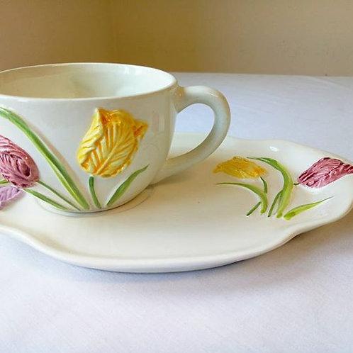 """Чайная пара """"Тюльпаны"""""""