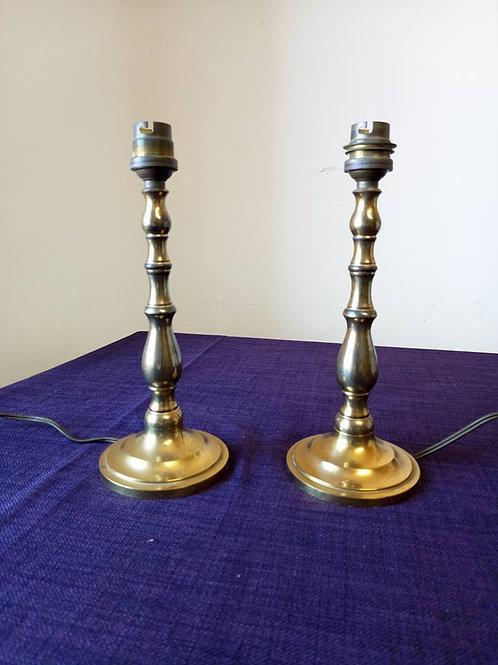 Пара Бронзовых ног для настольных ламп, Франция, первая половина 20го века
