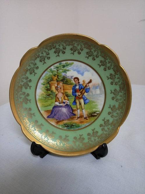 Коллекционная тарелка, фарфор, Лимож