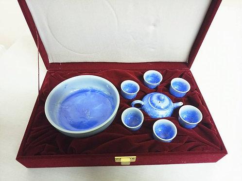 Миниатюрный набор для чаепития в кофре (МА)