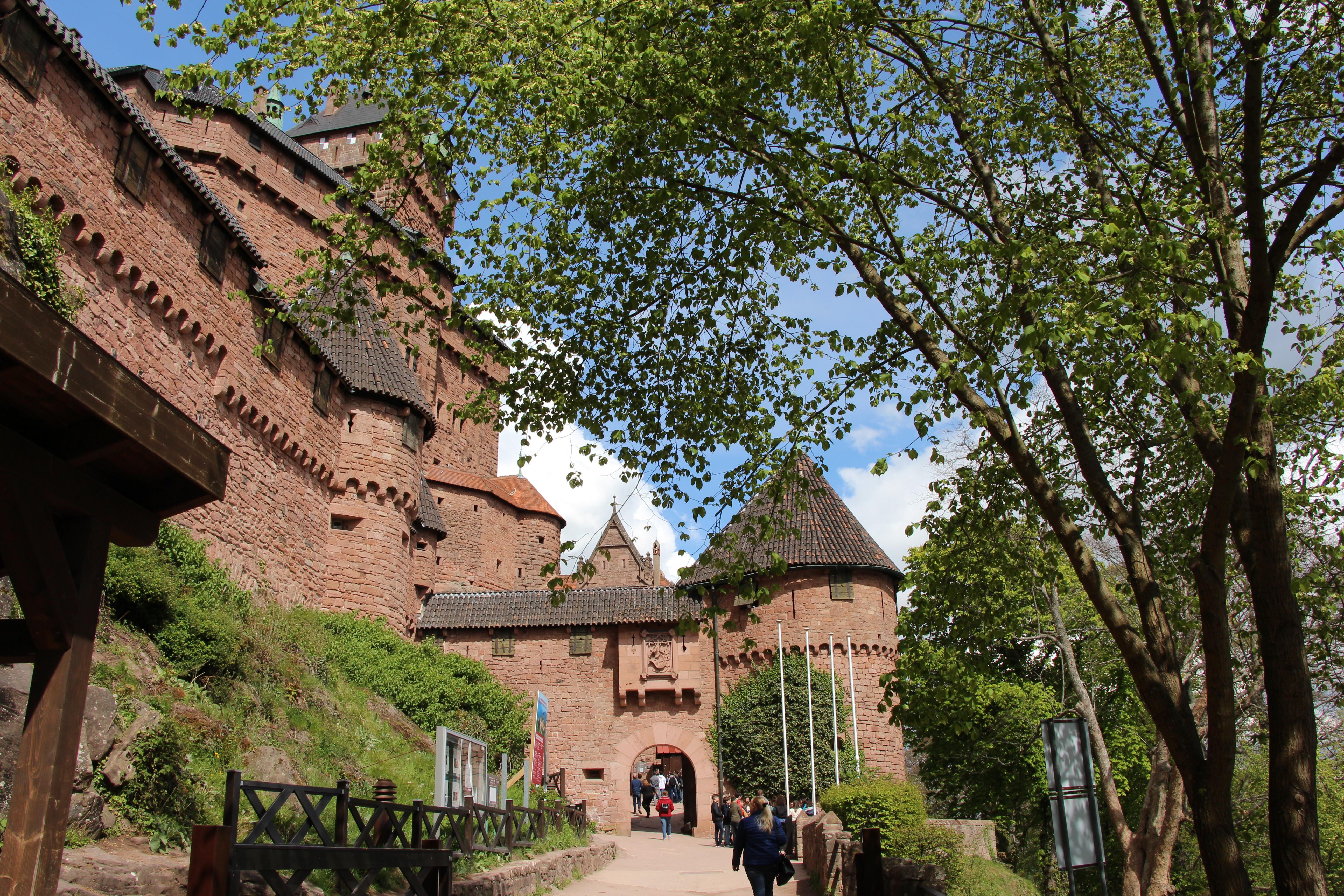 Замок Верхний Кенигсбург