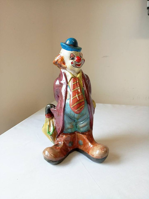 """""""Добрый клоун"""" статуэтка-копилка, прекрасная ручная работа, керамика, роспись, г"""