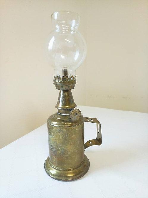 Керосиновая лампа из латуни