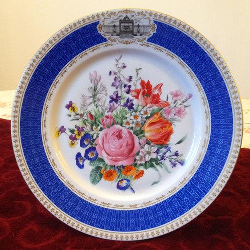 Коллекционная тарелка-панно, деколь с прорисовкой