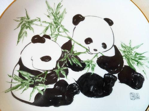 "Коллекционная тарелка ""Панды"" (МА)"