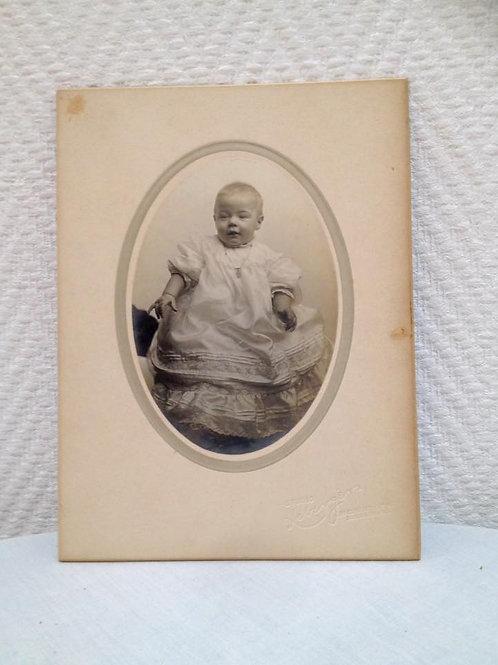 Фотография младенца, Франция 1910 г