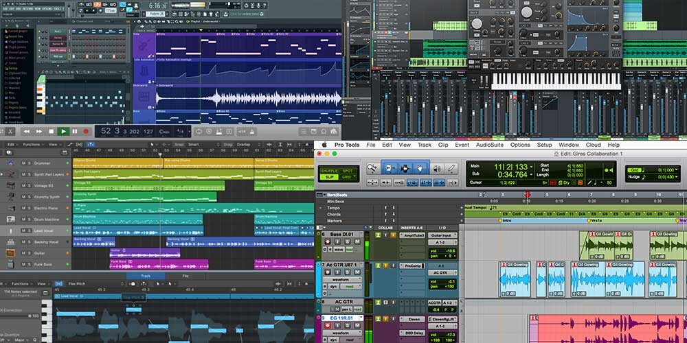 Digital audio workstations