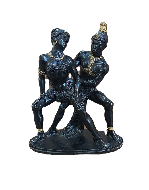Metal African Ornament