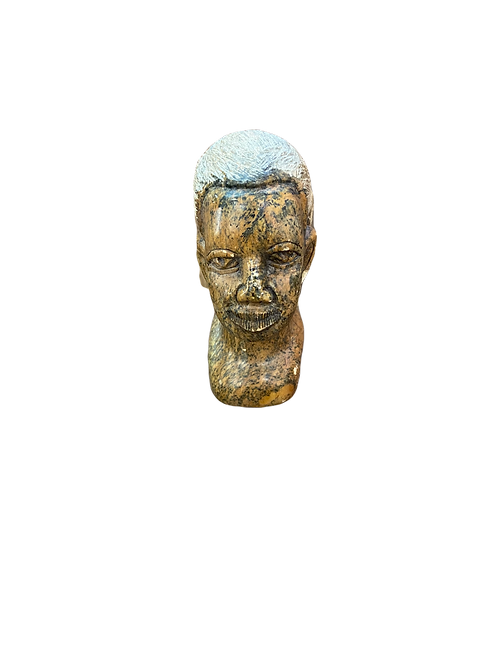 Stone Bust African Head