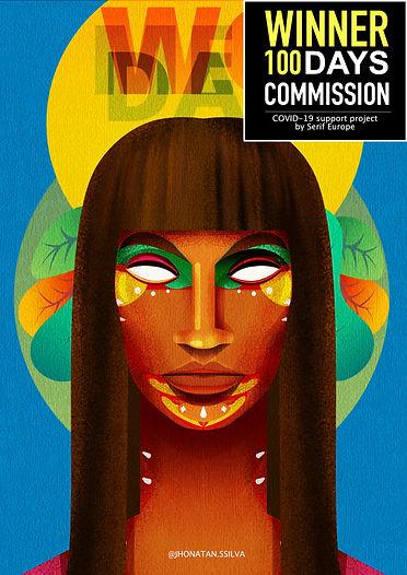 100 days commission affinity WINNER JHONATANSSILVA