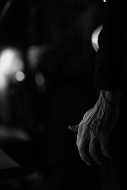 La main de Jérome BARDE