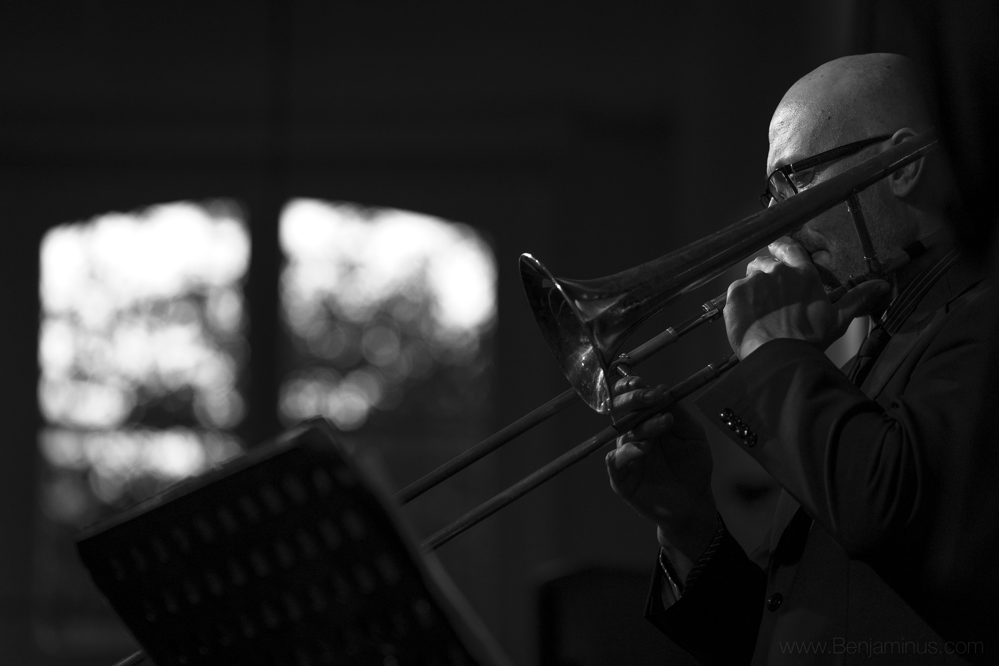 GILLES REPOND : trombone