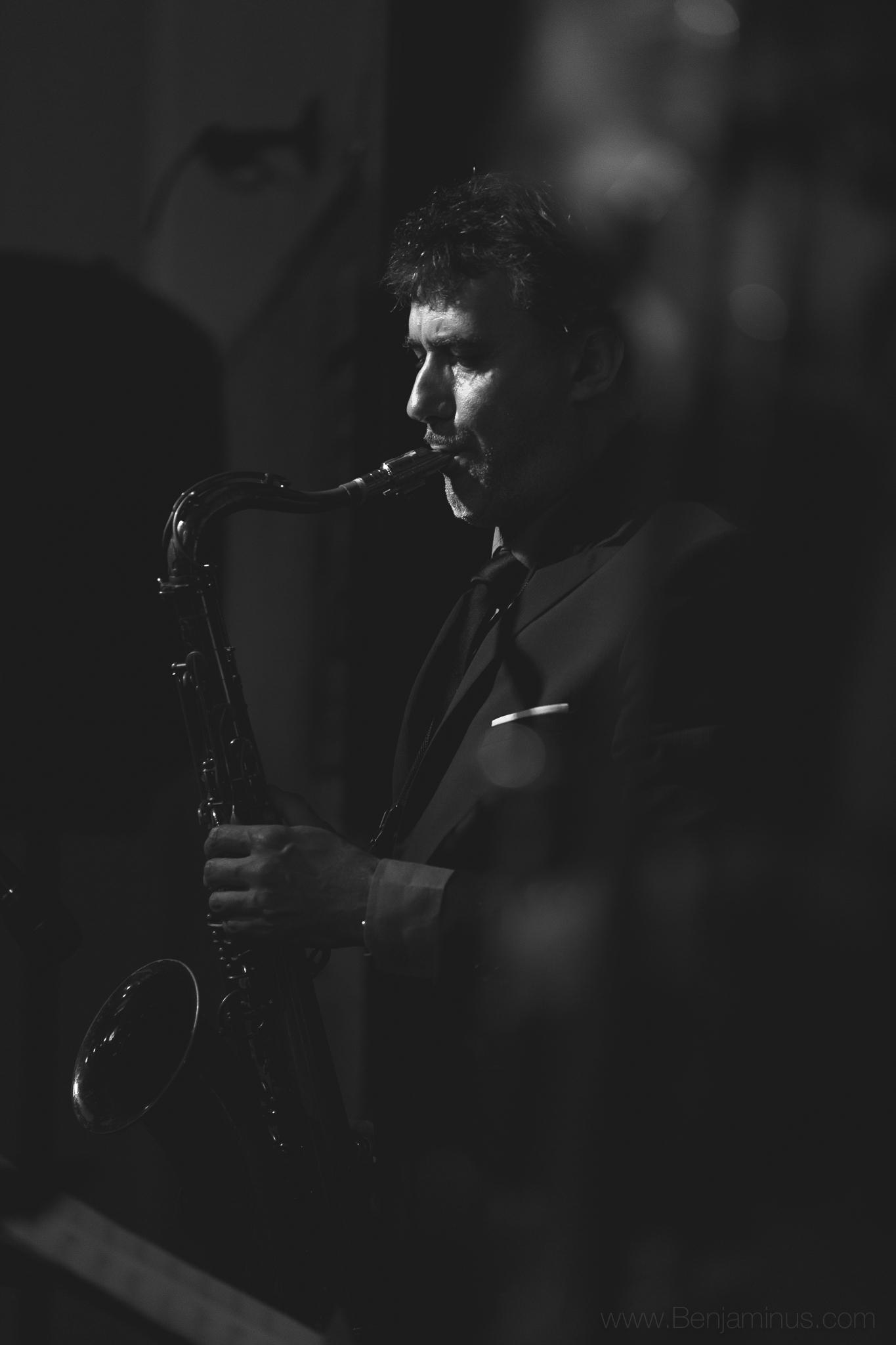 DAVID SAUZAY : sax ténor