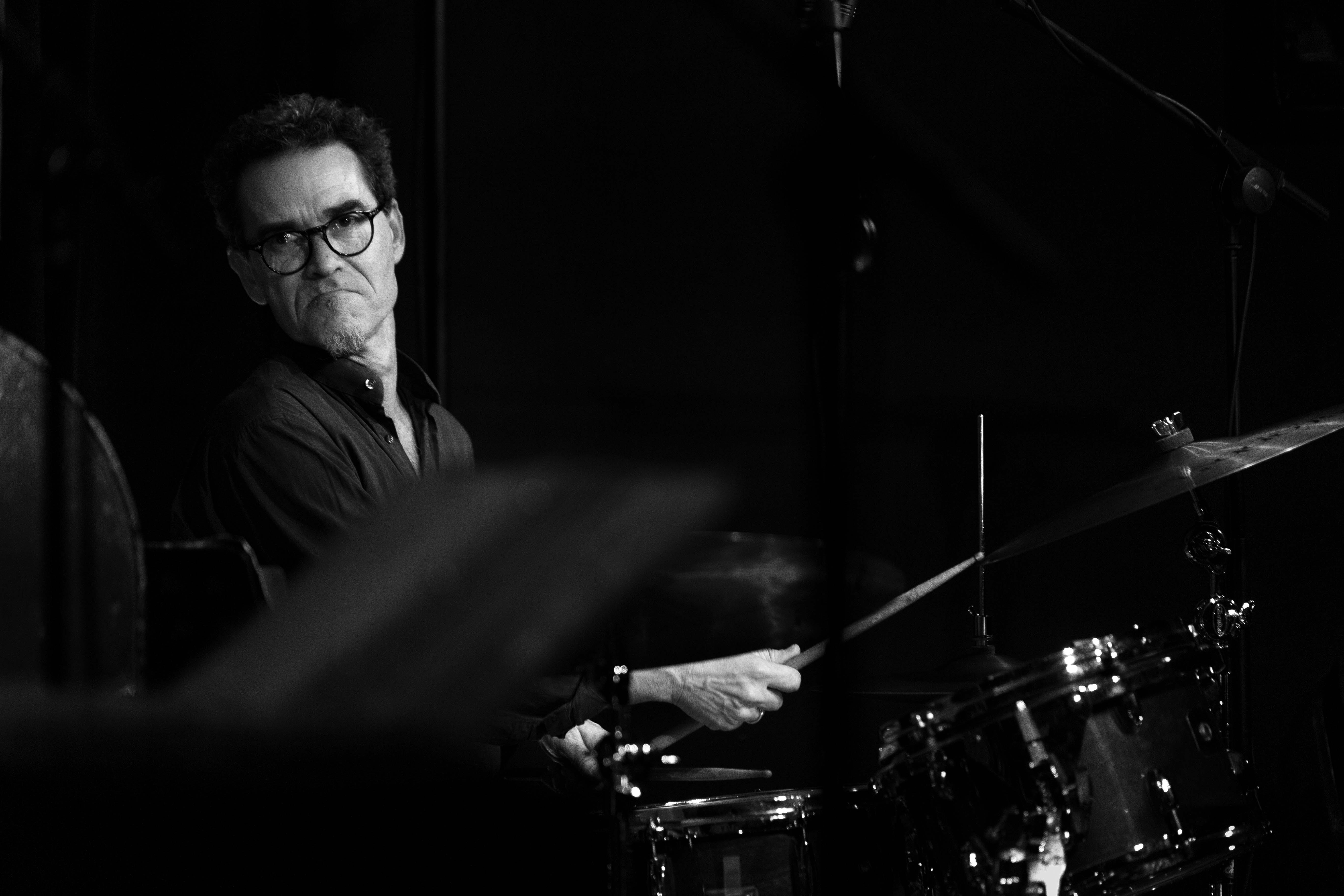 Thierry TARDIEU à la batterie