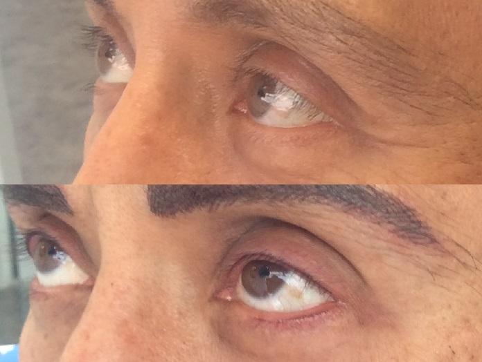 micropigmentación ojos hombres