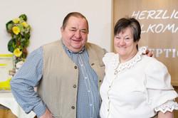 Rosemarie & Franz Knogler: Umsorgen die Gäste und unterstützen das Team wo sie nur können!