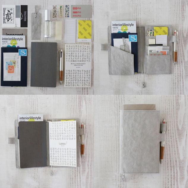 B6スリム・新書本用サイズの収納例