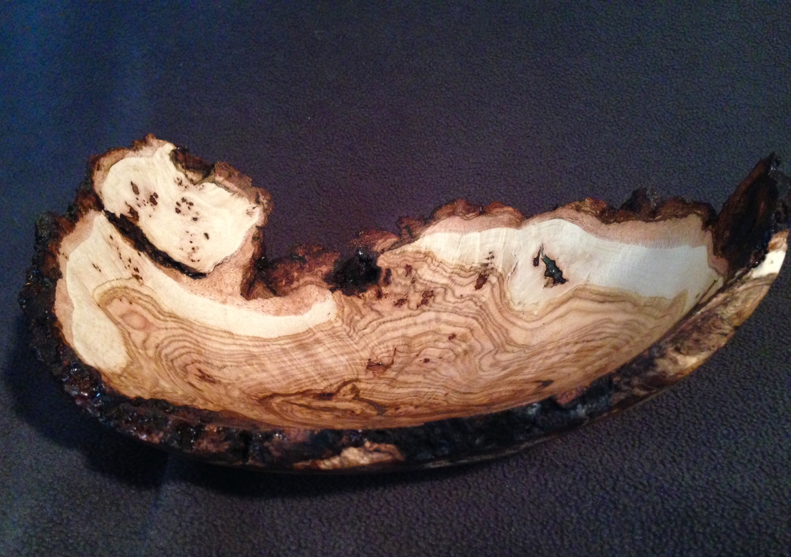 Oak Natural Edge Burl